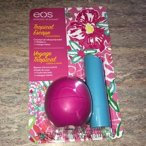 NEW Eos Lip Balm Set